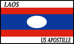 Laos Embassy Legalization