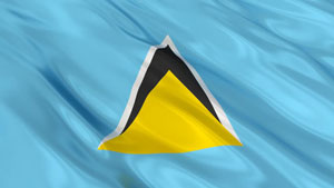 Get rush Apostille for Saint Lucia now from Washington DC Apostille.